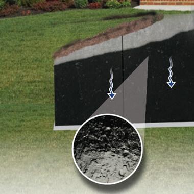 Quickseal Waterproofing Membrane Diagram