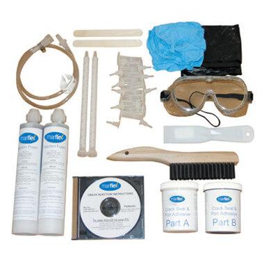 Single Use Crack Repair Kit